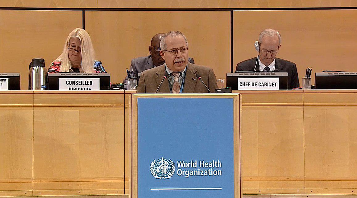 尼加拉瓜共和國衛生部秘書長 Carlos Saenz Torres為我執言