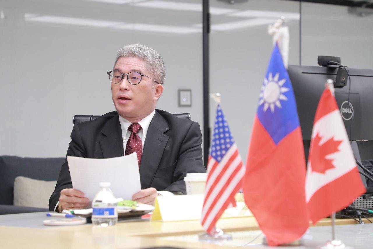 圖一:外交部政務次長徐斯儉開場致詞