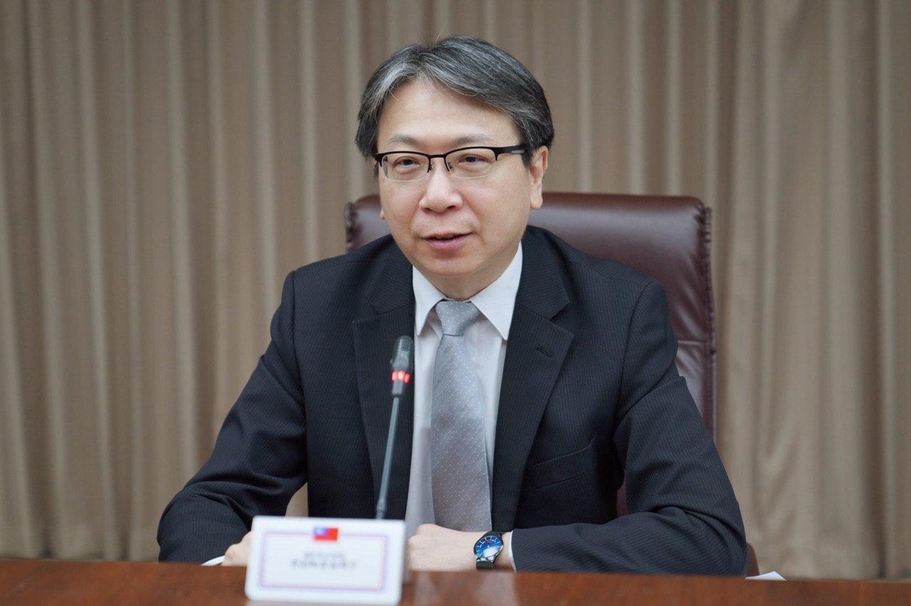 圖一:國安會副秘書長蔡明彥於本(5)月19日與美國務院北韓事務副特別代表黃之瀚(Alex Wong)通電話,討論臺美如何加強在北韓議題上之合作。
