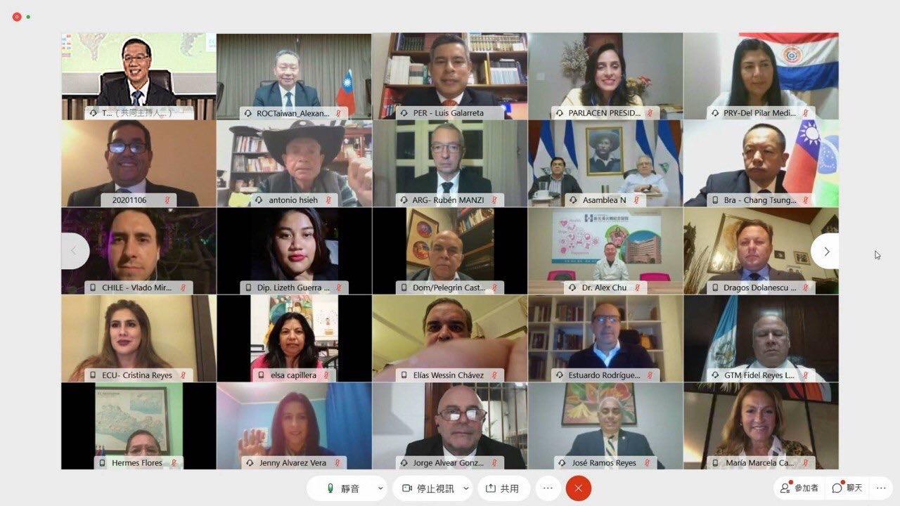 圖說二:拉丁美洲17國家及中美洲議會共144人出席拉丁美洲「福爾摩沙俱樂部」會員大會挺台參加世界衛生組織