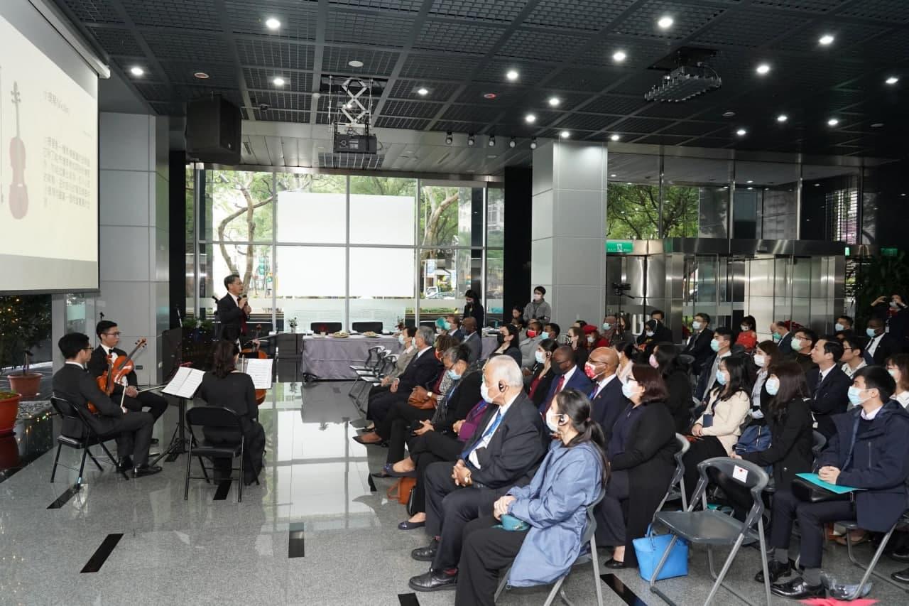 圖一:「聽見臺灣的聲音」專題講座現場出席踴躍。