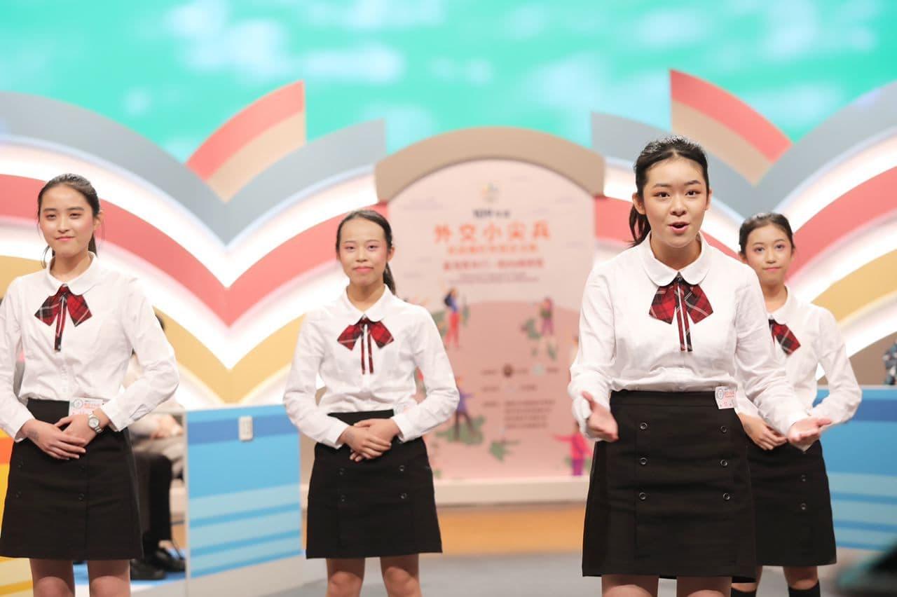 圖說一:参賽學生精彩的即席演說.jpg