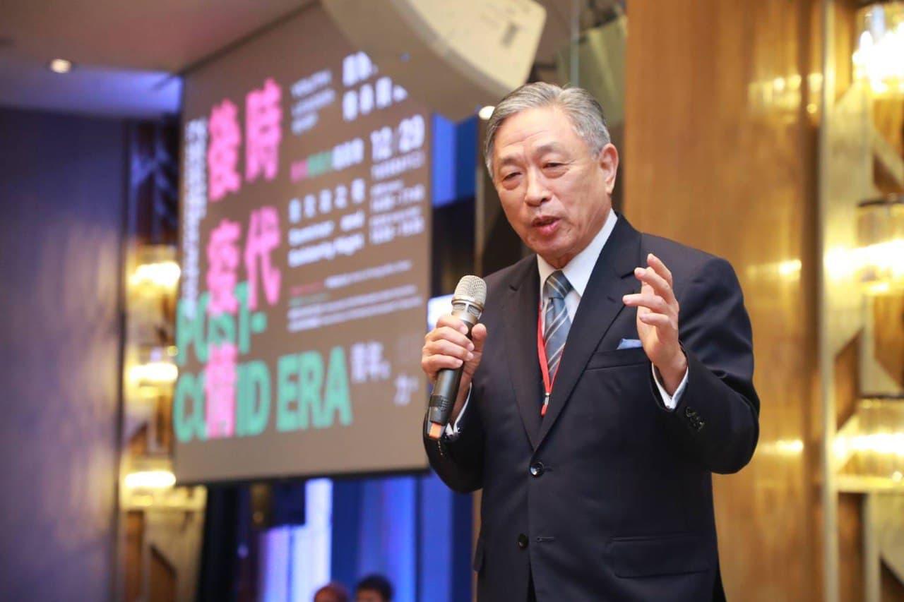 圖一:外交部政務次長田中光於「後疫情時代青年領導力」座談會致詞。